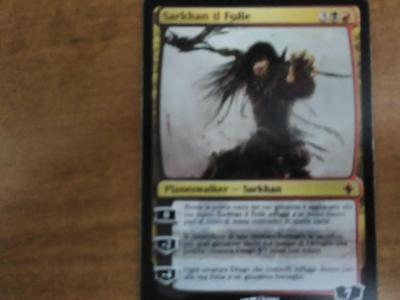 magic the gathering: sarkhan il folle