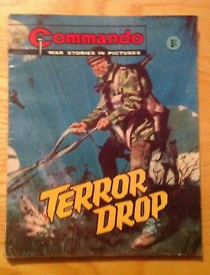 Commando Comic Number 443 Good Condition For Age War Comic 1969