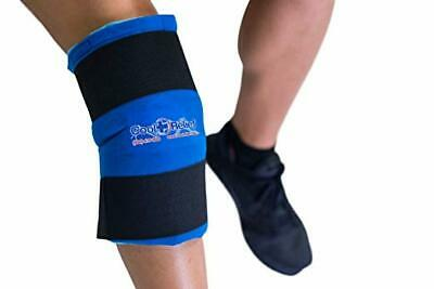 Reusable Gel Ice Pack Wrap Hot Cold Cryotherapy for Knee Thigh Pain Swelling