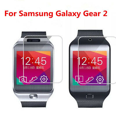 2x For Samsung Galaxy Gear 2 Classic Watch Tempered Glass Screen Protectors Film