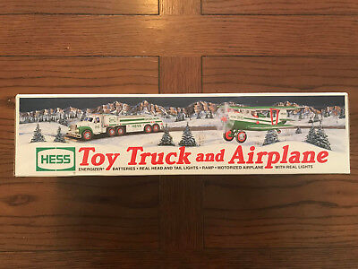 NEW 2002 Hess Toy Truck and Airplane