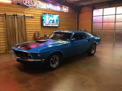 1969 Ford Mustang  1969 mustang fastback