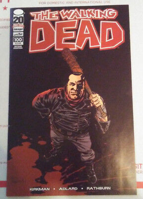 THE WALKING DEAD #100 (2012, Image)  First Appearance NEGAN  2nd Print VARIANT