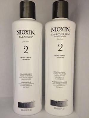 Nioxin System 2 Cleanser and Scalp Therapy Duo Set 10.1 oz