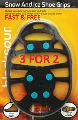 Winter trax Ski Universal Lightweight  Snow and Ice Shoe Grip fits Sizes 4-11