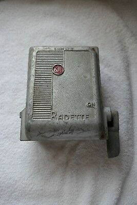Vintage Retro Cast Metal Bill Radette 3 Phase Switch Fuse Box 01438 MK III