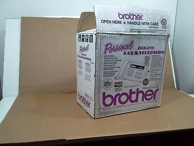 Brother Personal Fax & Telephone FAX-275