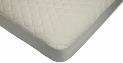 American Baby Company Waterproof Quilted Crib and Toddler Size Fitted Mattres...
