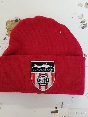 Sunderland   Retro style wooly Hat Beanie Hat The black cats