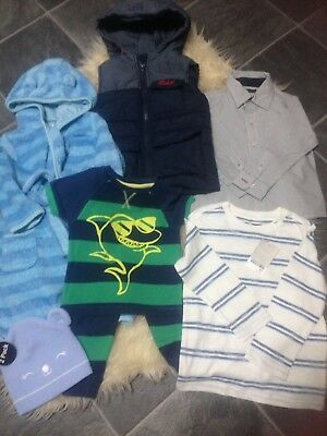 Wow 18-24M Next New Tagged/m&s Shirt/nightwaer/bodywarmer/hat Immaculate £6.50