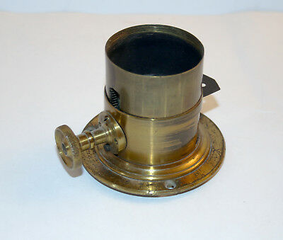 Rear Half of Early Radial Drive Steinheil Lens - Serial #3945 - No reserve
