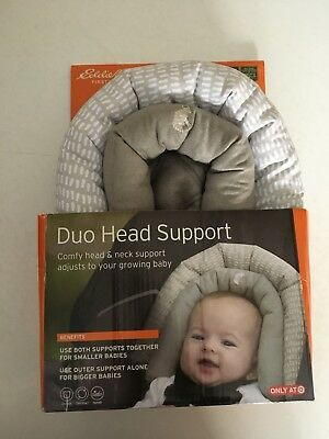 Eddie Bauer Duo Head Support For Baby Car Seat Stroller And Carrier