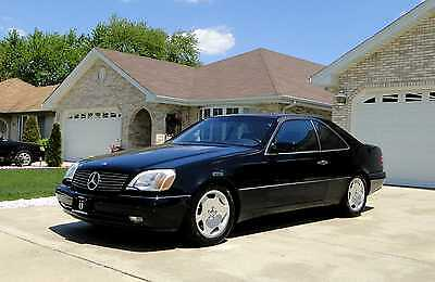 1998 Mercedes-Benz CL-Class Collector's Dream █Rare Big Body Benz~2-Door Coupe~Xenons~Leather~JL Audio~S500~Low Miles~$9900█