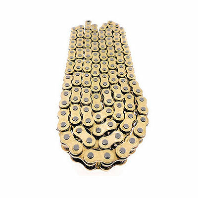 160 Link Heavy Duty Gold Drive Chain For Extended Swingarm Motorcycle 520 X 160
