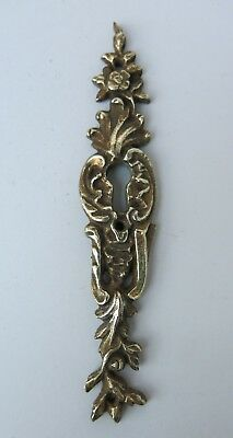 (3 AVAILABLE) Vintage BRASS FURNITURE Escutcheon / Keyhole Cover
