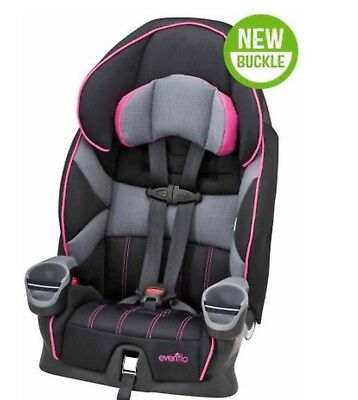 Brand New Evenflo Maestro Booster Car Seat, Taylor, Harness Booster, 22-110 Lbs