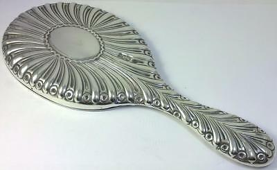 "Victorian hallmarked Silver-backed Mirror (10 ½ "")  – 1895 by William Comyns"