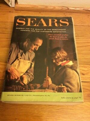 1962 Sears Fall And Winter Book Catalogue.