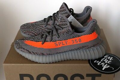 dca843993d7f Adidas Yeezy Boost 350 V2 Beluga 1.0 OG Grey Orange BB1826 5 6 7 8 9