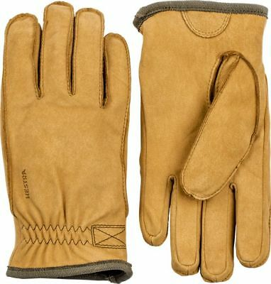 Hestra Unisex Tived Glove, Tan, 9