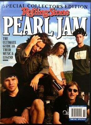 2017 PEARL JAM ULTIMATE GUIDE by ROLLING STONE guitar music life