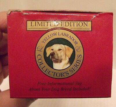 Yellow Labrador Figure, Collector's Limited Edition New in the Box