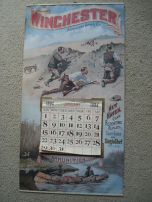 WINCHESTER Calendar 1894 Reproduction - Perfect Man Cave Gift!