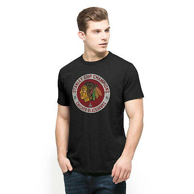 NHL Chicago Blackhawks 2015 Stanley Cup Champions Scrum Tee by '47 Brand