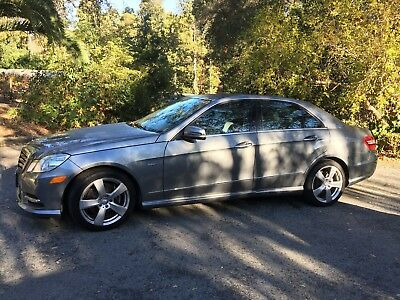 2012 Mercedes-Benz E-Class P01 Sport package, sunroof 2012 mercedes-benz e350