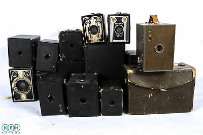 Lot of 13 Antique Box Cameras *AS/IS*