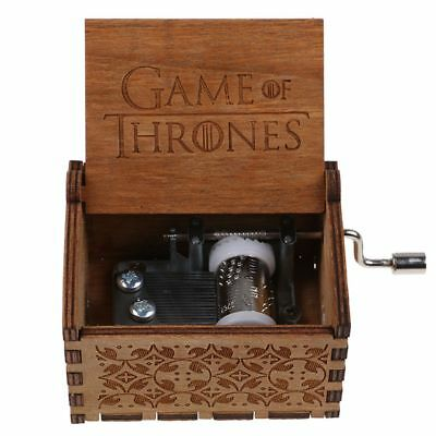game of thrones handarbeit graviert holz spieluhr spielzeug geschenk for kids picclick de. Black Bedroom Furniture Sets. Home Design Ideas