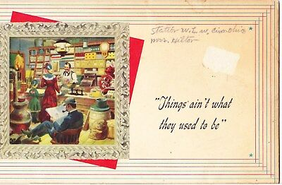 "1941 National Cash Regisiter Booklet ""things Ain't What They Used To Be"" :dayton"