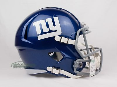 NEW New York Giants NFL Riddell Replica Speed Gridiron Helmet