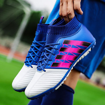 NEW Men Kids Boys Soccer Indoor Cleats Athletic Shoes Turf Soccer Football Boots