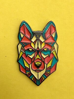🐺SPACE WOLF PIN 2.0...dead panic phish bassnectar pretty lights cheese umphreys