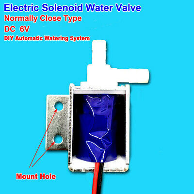 DC 12V 24V Micro  Electric Solenoid Valve Normally Closed Watering Control Valve