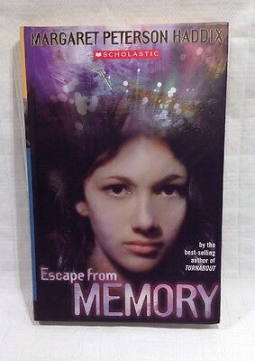 Escape from Memory by Margaret Peterson Haddix (Hardcover) FREE SHIPPING!