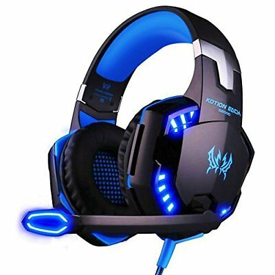 Casque Gaming Micro ArkarTech G2000 Casque Filaire PC Microphone Headset Basse