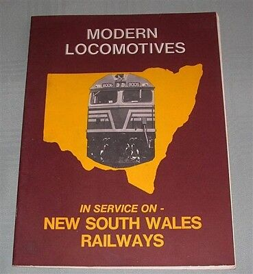 Modern Locomotives in Service on NSWR, SC book