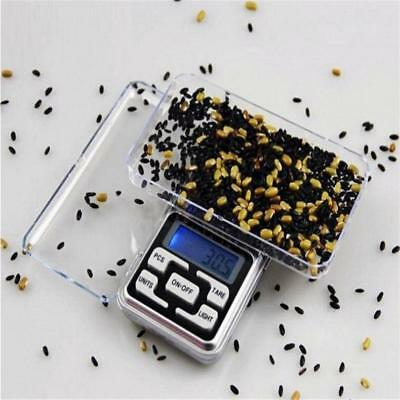 Pro New Pocket Digital Scale Weight 500g x 0.1g 0.01g Balance Electronic Gram