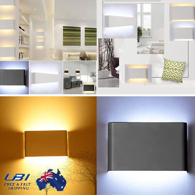 14W LED Up and Down Lighting Wall Light Lamp Warm/White Retro Sconce Lights