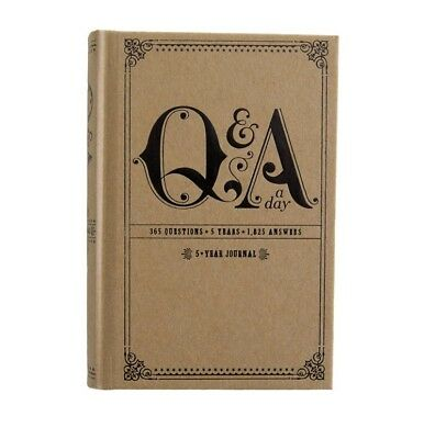NEW Q & A a Day: 5-year Journal By Potter Style [ Hardcover, Journal ]
