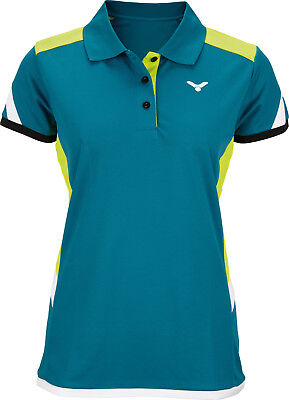 VICTOR Polo Function Female petrol 6687 * Trikot Badminton Tennis Squash