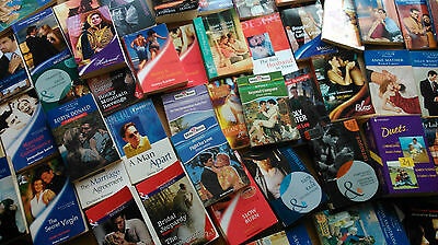 100 Boxed Mills and Boon Job Lot romance
