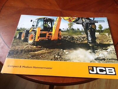 Sales Spec Sheet For JCB Hammermaster From 2009