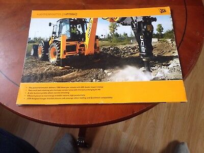 JCB Spec Sheet For Hammermaster HM386Q