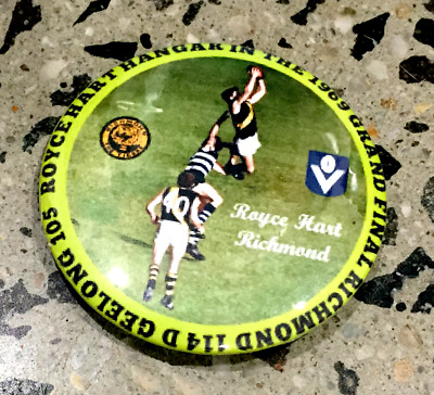 New-Richmond Premiers Glossy Retro Badge-Royce Hart- Classic 57Mm Size!