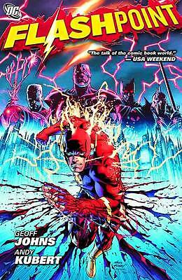 Flashpoint by Geoff Johns (author), Andy Kubert (illustrator)
