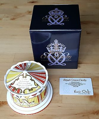 Royal Crown Derby Christening of Prince George, Carousel Money Box