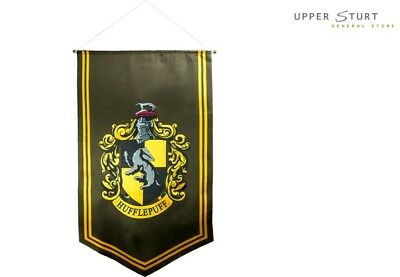 Harry Potter - Hufflepuff Satin Banner FAST 'N FREE DELIVERY